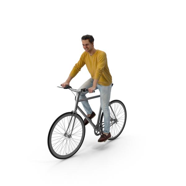 Man Biking PNG & PSD Images