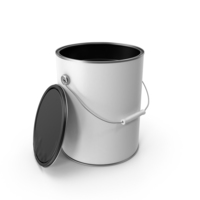 Open Paint Can PNG & PSD Images
