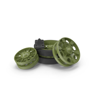 T-34 Wheels PNG & PSD Images