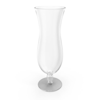Hurricane Cocktail Glass PNG & PSD Images