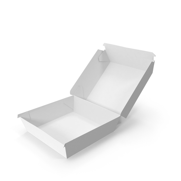 Burger Box Opened PNG & PSD Images