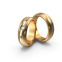 Wedding Rings With Diamonds PNG & PSD Images