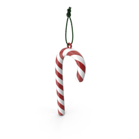 Candy Cane Ornament PNG & PSD Images