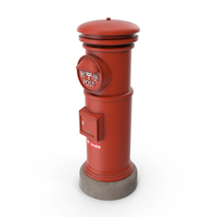 Japanese Post Box PNG & PSD Images