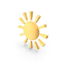 Sunny Weather Symbol PNG & PSD Images