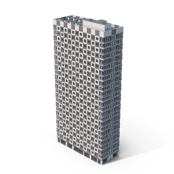 Checkered Skyscraper PNG & PSD Images