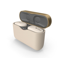 Sony WF-1000XM3 Earbuds PNG & PSD Images