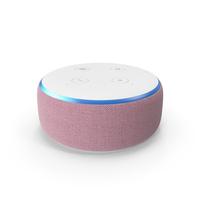 Amazon Echo Dot 3rd Generation Plum PNG & PSD Images