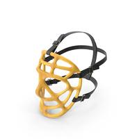 Pretzel Goalie Mask Worn PNG & PSD Images