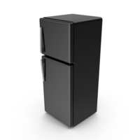 Refrigerator Black PNG & PSD Images