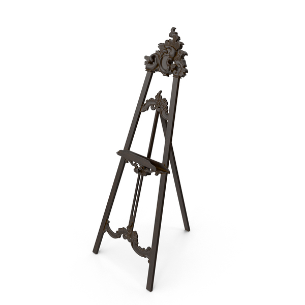 Baroque Easel PNG & PSD Images