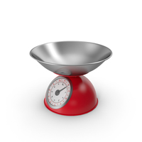 Retro Mechanical Kitchen Scale PNG & PSD Images