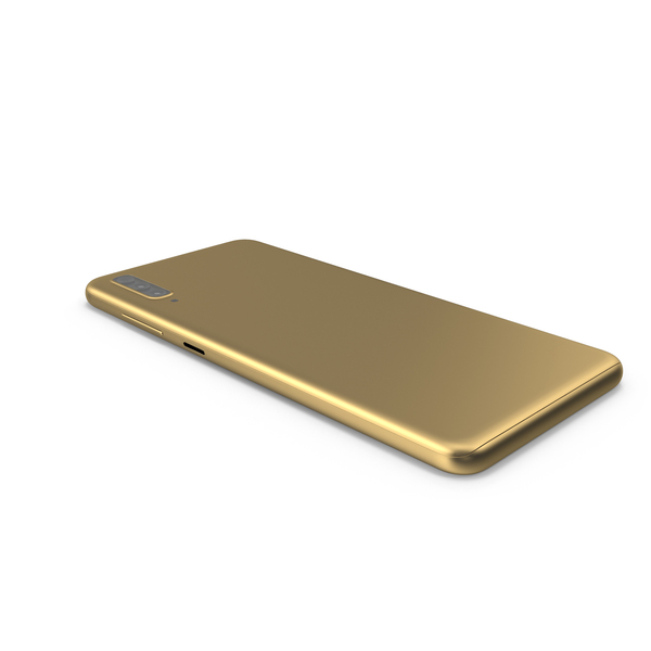Mobile Phone Golden PNG & PSD Images