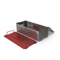 Open Medical Instruments Container PNG & PSD Images
