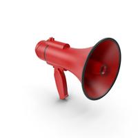 Loudspeaker Red PNG & PSD Images