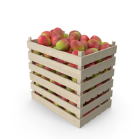 Wooden Crates with Mango PNG & PSD Images