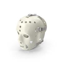 Ed Stanowski Hockey Mask Worn PNG & PSD Images