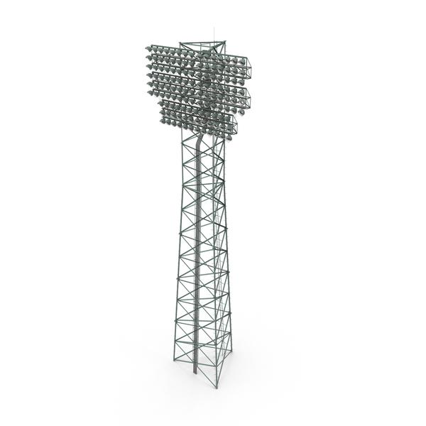 Stadium Lights Lit PNG & PSD Images