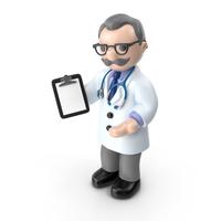 Cartoon Doctor PNG & PSD Images