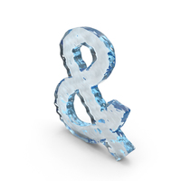 Water Ampersand Sign PNG & PSD Images