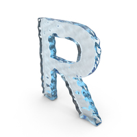 Water Letter R PNG & PSD Images