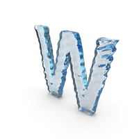 Water Letter W PNG & PSD Images
