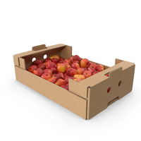 Cardboard Box Of William Pears PNG & PSD Images