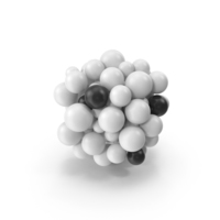 Abstract Cloud of Spheres PNG & PSD Images