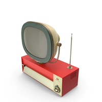 Antique Television PNG & PSD Images