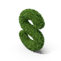 Hedge Shaped Letter S PNG & PSD Images