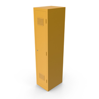 Yellow Locker PNG & PSD Images