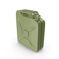 Army Green Fuel Can PNG & PSD Images