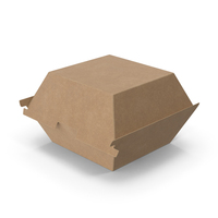 Fast Food Hamburger Container PNG & PSD Images