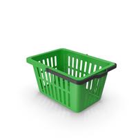 Plastic Basket Green PNG & PSD Images