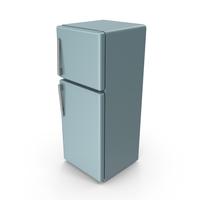 Grey Blue Refrigerator PNG & PSD Images