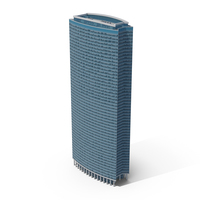 Skyscraper Blue Glass PNG & PSD Images