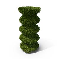Shaped Hedge PNG & PSD Images