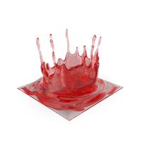 Red Splash PNG & PSD Images