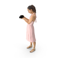 Woman with Camera PNG & PSD Images