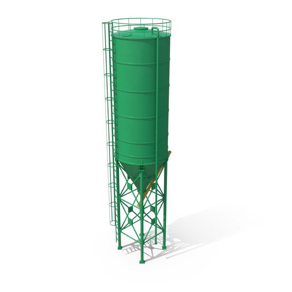 Silo Green PNG & PSD Images