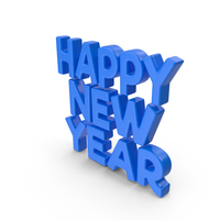 Toon New Year PNG & PSD Images