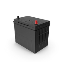 Auto Battery Black PNG & PSD Images