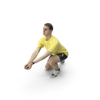Man Playing Volleyball PNG & PSD Images
