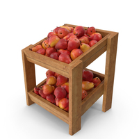 Wooden Shelf With William Pears PNG & PSD Images