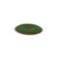 Grass & Dirt Shape Short PNG & PSD Images