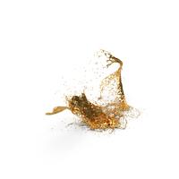 Gold Splash PNG & PSD Images