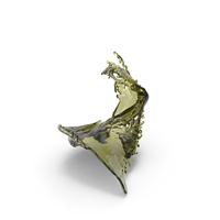 Olive Oil Splash PNG & PSD Images