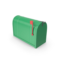 Mailbox Closed Green PNG & PSD Images