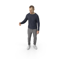 Man Standing Gesturing PNG & PSD Images