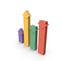 Analytical Bar Graph PNG & PSD Images